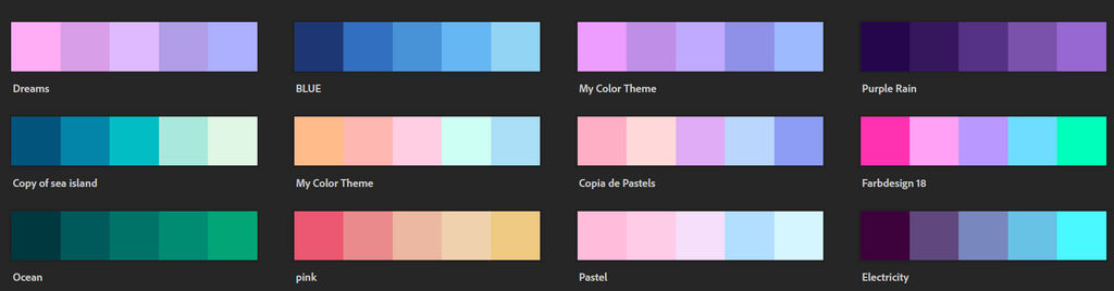 Object Colour Theme Adopts #1 by PillowBFB