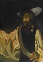 copy of a Rembrandt by MisterSean