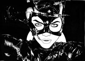 Catwoman by DMThompson