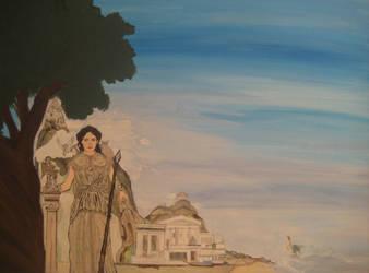 Mythology of Athens by hikaphoenix