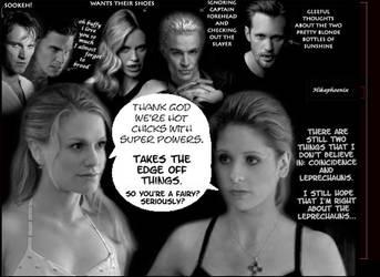 Buffy and Sookie by hikaphoenix