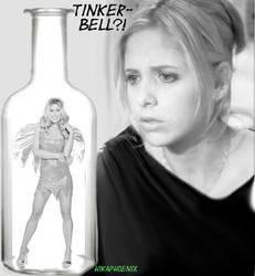 Buffy and Sookie-bell ATC by hikaphoenix
