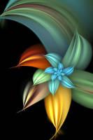 Flower of Unknown Origin VIII by MeddlerInc
