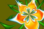 Flower of Unknown Origin VI by MeddlerInc