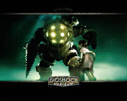 Wallpaper Bioshock by generalbrievous