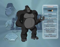 Gorilla Grodd Character Key by Veil1