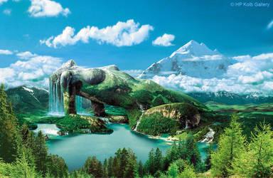 Magic Mountain by HansPeterKolb