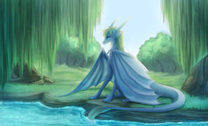 Secluded place Commission by WrappedVi