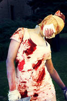 Silent Hill - Bobblehead Nurse by mintifresh