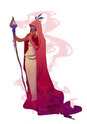 Sorceress. sneak peek by RocioGarciaART