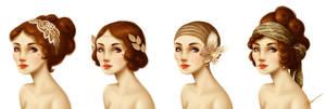 20s ladies by RocioGarciaART