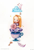 Alice in Wonderland by RocioGarciaART