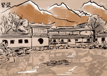 Chinese paint by Zzacchi