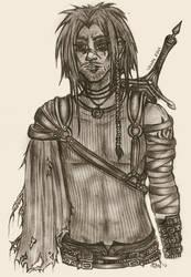 Vahn: World Weary Warrior by The-Beautiful-Sin