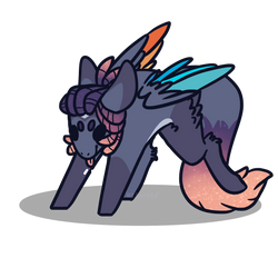Space Blep by OliveOiI