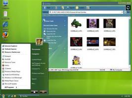 Vista Green Theme For XP by pri2sh