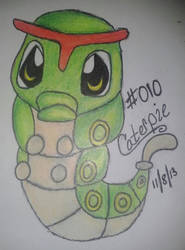 Caterpie by iluvAoi-Ayabie16