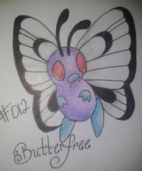 Butterfree by iluvAoi-Ayabie16