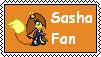 Sasha Fan Stamp by BlackZero24