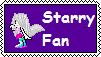 Starry Fan Stamp by BlackZero24
