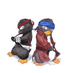 Penguins by ApocalypseSalvation