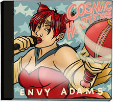 cosmic heart attack by clytie