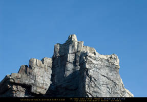 Mountian Goat Cliff by SalsolaStock