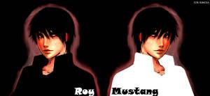 FMA - Roy Mustang by bloody-widow