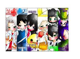 KHR Bookmarks by wndyxxox