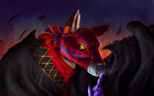 Slagar the Cruel Portrait by YasminFoster
