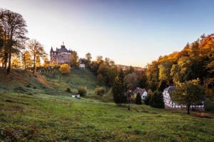 Autumn Castle Berlepsch by artmobe