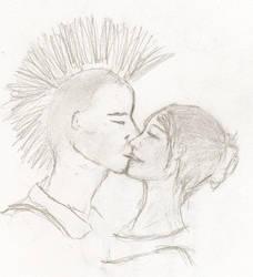 Kisses by EbonButterflyWings