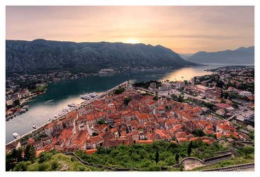 The Bay of Kotor by DSent