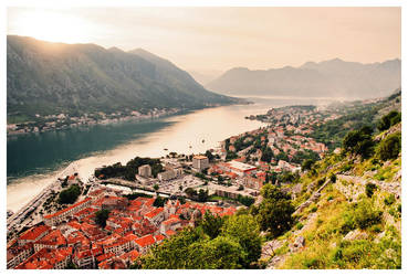 The Bay of Kotor II by DSent