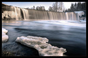 Jagala Waterfall by DSent