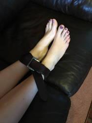 My bounded feet by VladaTheTicklish