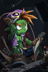 Goblin Engineer by aun61