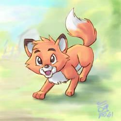 The Fox by aun61