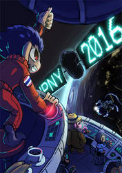 2016 The Year of Monkey by aun61