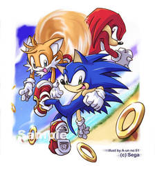Sonic Team - South Island by aun61