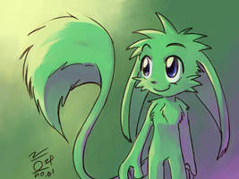 I have a fluffy tail by aun61