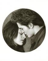 Edward and Bella: Tondo by Randy-man