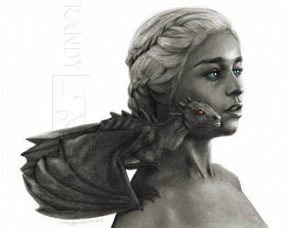 Daenerys - The Blood of the Dragon by Randy-man