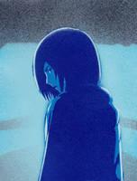 Mikasa Ackerman blue by Ali-Radicali