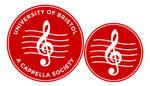 UoB A Cappella logo design development by iainhallam