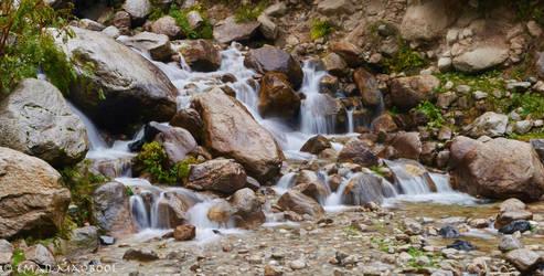 Kashmir Waterfall by EmadTaj
