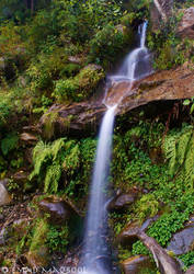 Kashmir Waterfall II by EmadTaj