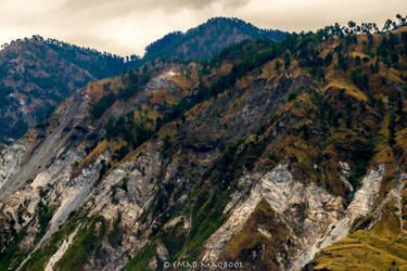 Muzaffarabad Mountains by EmadTaj