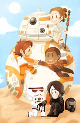 Star Wars: The Force Awakens by kata-009