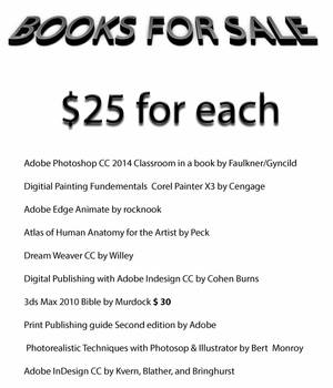 Books for sale by Cosmicmoonshine